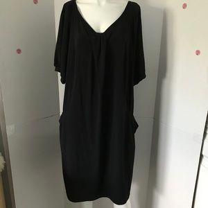 AGB Black sleeveless pullover dress  Sz 20W (L-69)